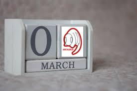 calendrier mars archi